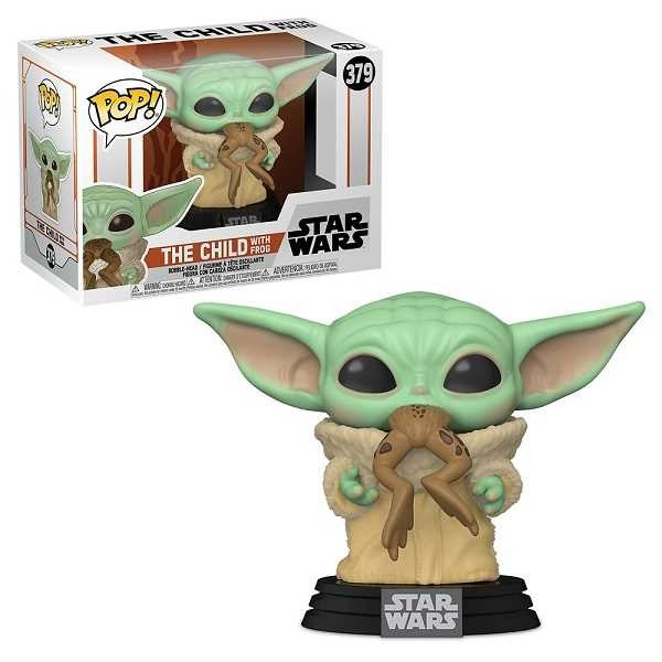 Funko Pop! STAR WARS THE MANDALORIAN: The Child With Frog #379