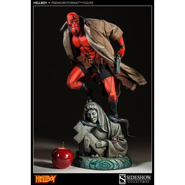 Hellboy Premiun Formatt 1/4 Statue Sideshow EXCLUSIVE