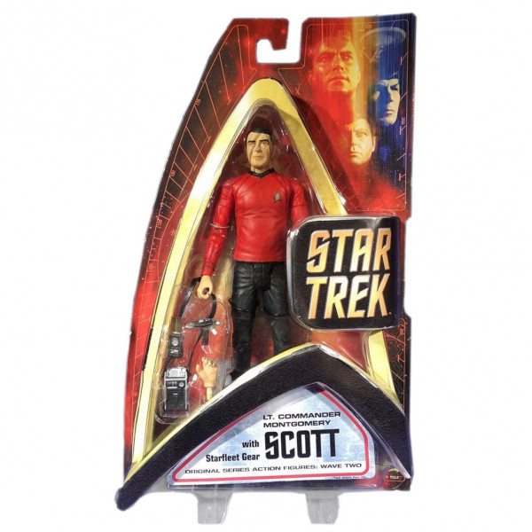 Star Trek Action Figure Scott Classic Diamond