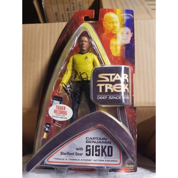 Autografo Every Brooks Star Trek Deep Space Nine Sisko Trouble Tribbles