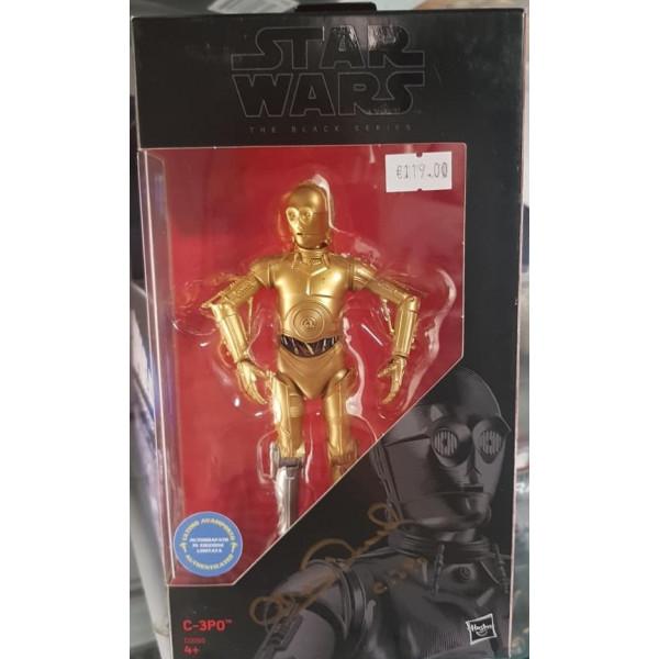 Autografo Anthony Daniels Star Wars C-3PO  Black Series figurine The Mandalorian 15 cm