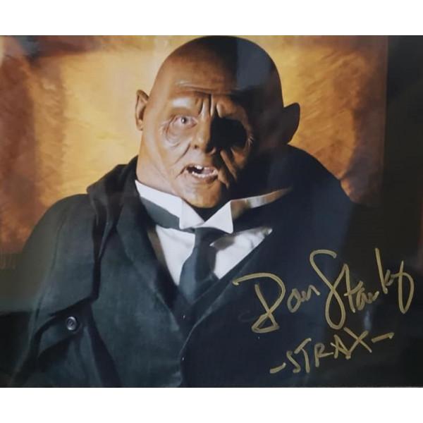 Autografo Dan Starkey Doctor Who 5 Foto 20x25