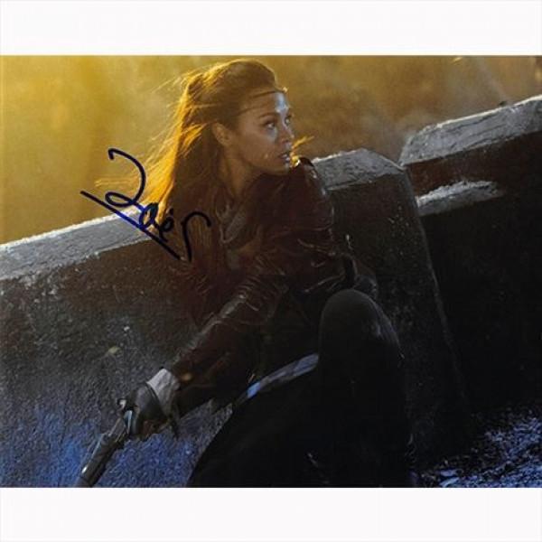 Autografo Zoe Saldana - Star Trek Into Darkness Foto 20x25
