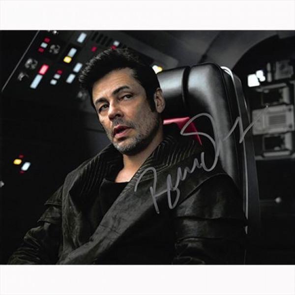 Autografo Star Wars Benicio del Toro -  Foto 20x25