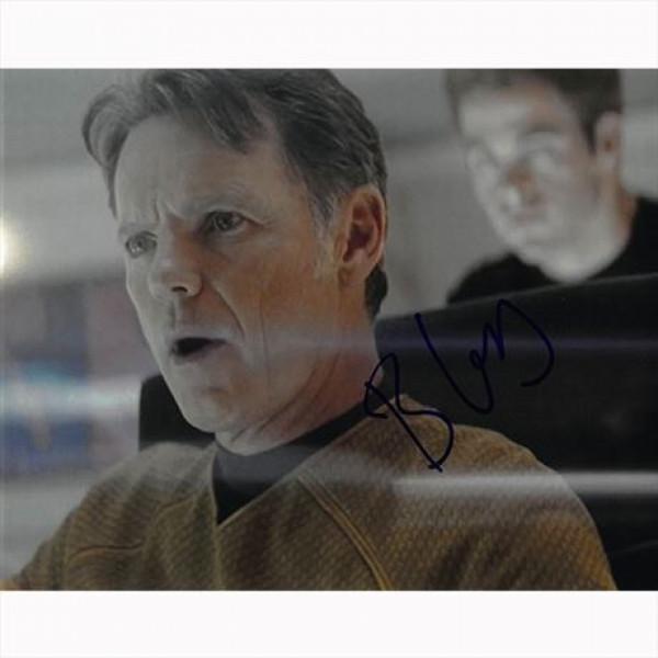 Autografo Bruce Greenwood - Star Trek Il Futuro ha Inizio Foto 20x25