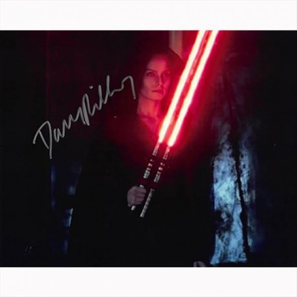Autografo  Star Wars The Rise of Skywalker Daisy Ridley - Foto 20x25