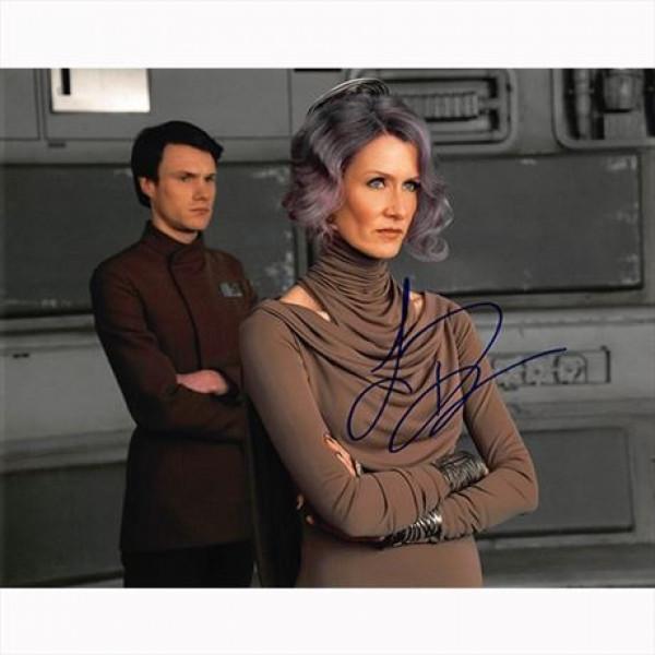 Autografo Laura Dern - Star Wars Foto 20x25