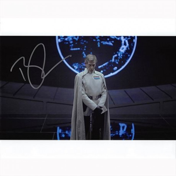 Autografo Ben Mendelsohn - Star Wars Rogue One Foto 20x25