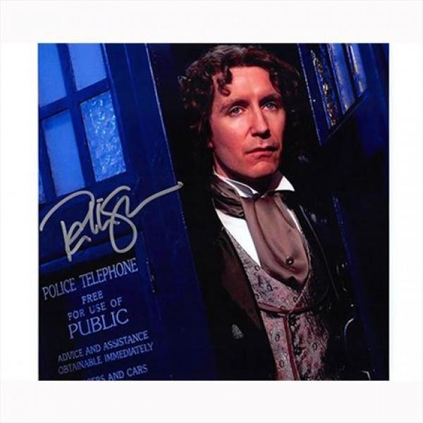 Autografo Paul McGann - Doctor Who Foto 20x25