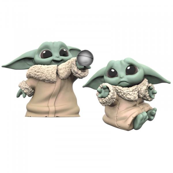 "Hasbro Star Wars: The Mandalorian Baby Bounties ""Hold Me and Ball"" Mini Figures Set 2 pezzi"