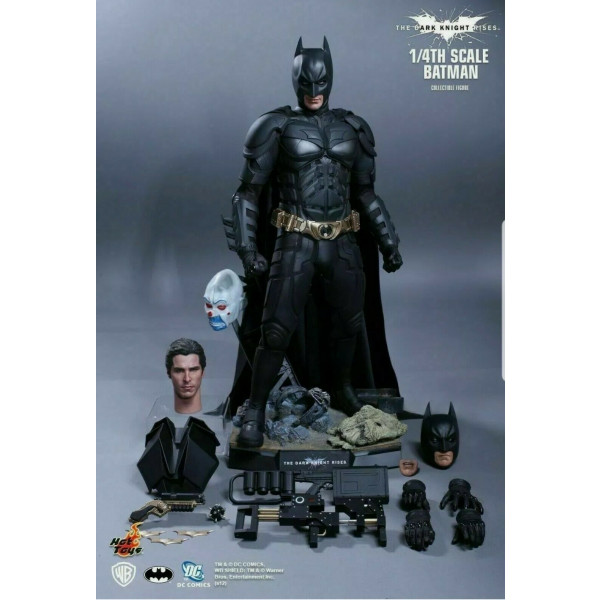 Hot Toys QS001 Batman 1/4 The Dark Knight Rises