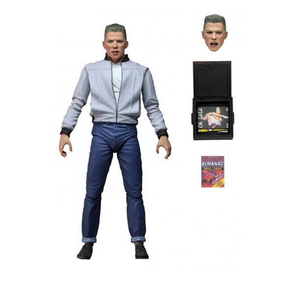 NECA BIFF Back to the future Action figure: