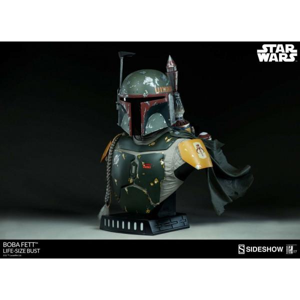 Star Wars Busto 1/1 Boba Fett Lifesize 69 cm