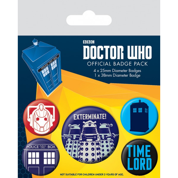 Set Spille  Doctor Who (Sterminare)