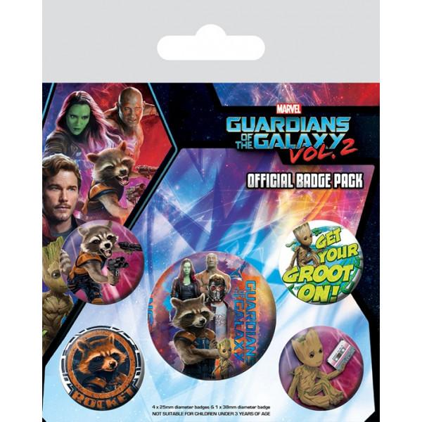 Spille Set Guardiani della Galassia Vol. 2 (Rocket & Groot)