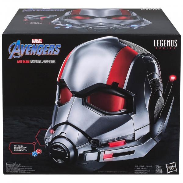 Riproduzione casco di Ant-Man, Avengers,1:1  serie Marvel Legends, Hasbro