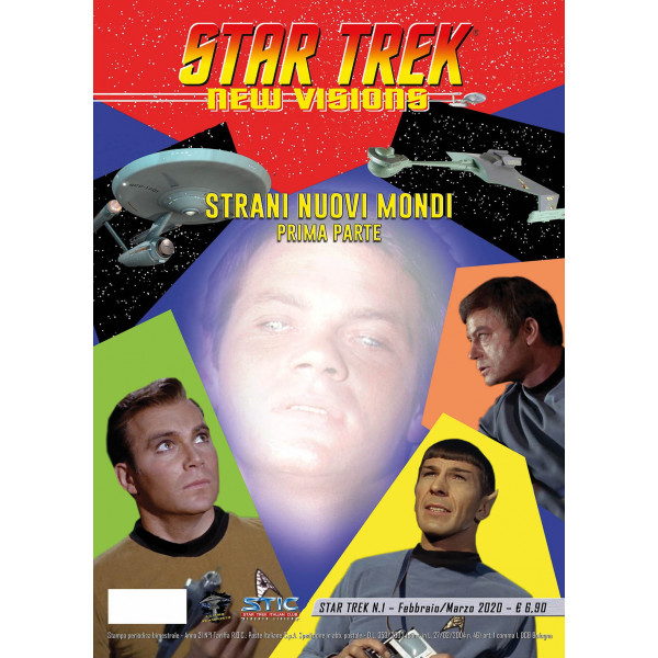 Star Trek New Vision SATRANI NUOVI MONDI N°1