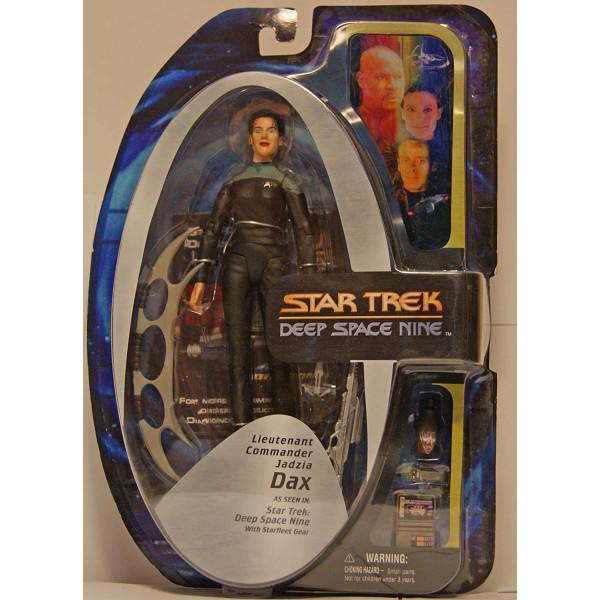 Star Trek Deep Space Nine Action Figure Bundle Dax Diamond Select