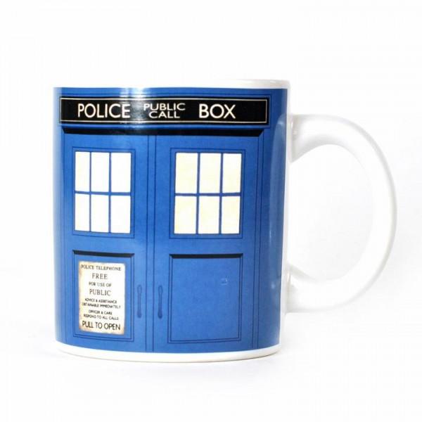 Tazza Tardis Doctor Who