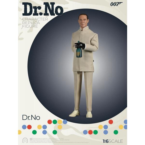 ACCONTO PREORDINE ! SALDO EURO 200,00  Dr. No Collector Figure Series Action Figure 1/6 Dr. No JAMES BOND 007 Limited Edition 30 cm