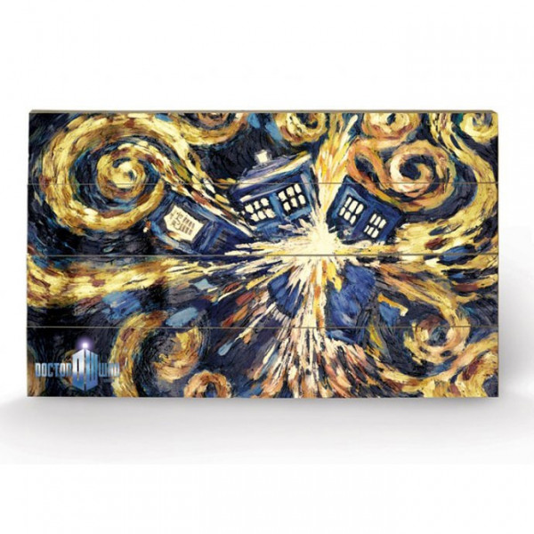 Poster Doctor Who – Exploding Tardis