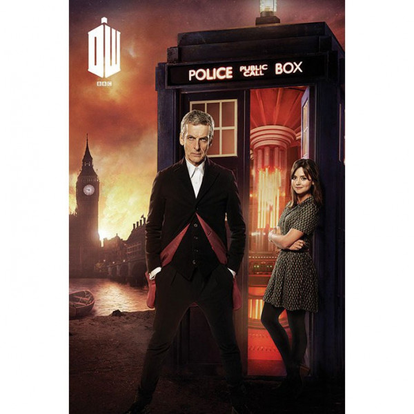 Poster Doctor Who (London Fire)