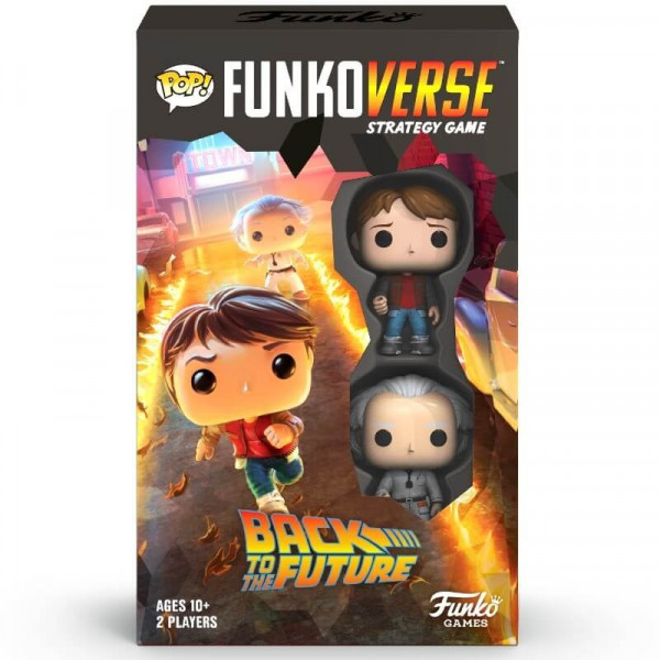 Back to the Future Funkoverse Board Game 2 Character Expandalone 100 *English Version*