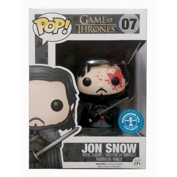 Funko Pop! Game of Thrones Jon Snow blod, #07 Exclusive