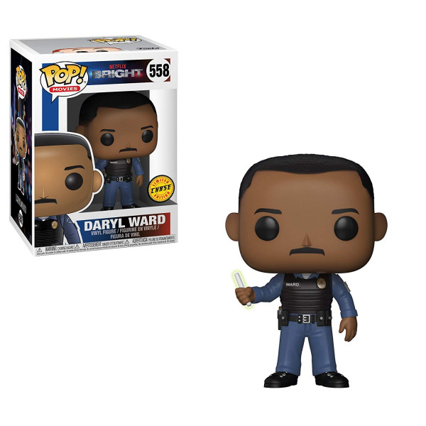 Funko- Pop Vinile Bright Daryl Ward Chase