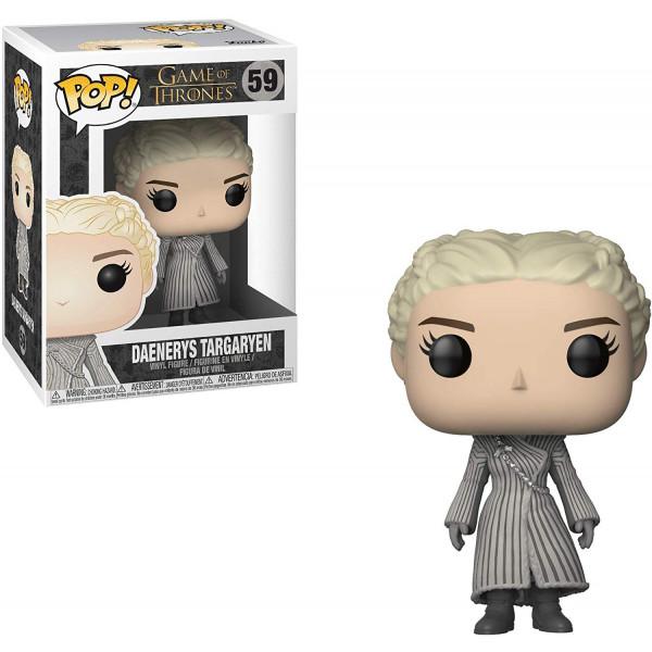 Funko Pop! Game of Thrones S8 Daenerys (White Coat)