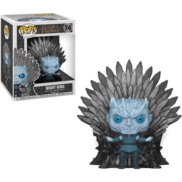 Funko Pop! Deluxe: Game of Thrones S10: Night King Sitting on Throne