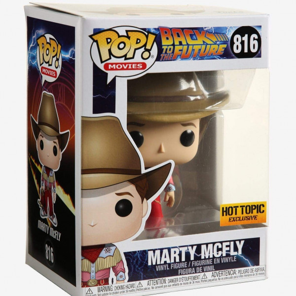 Funko Pop!  Back to The Future Marty McFly Hot Topic