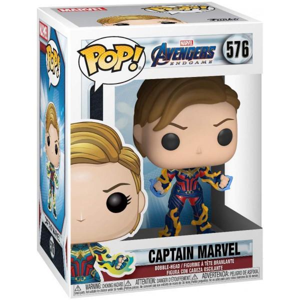 Funko Pop! Avengers Endgame: Captain Marvel #576