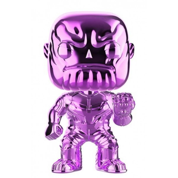 Funko Pop! Avengers Infinity War: Thanos #289 (Chrome Purple) Special Edition