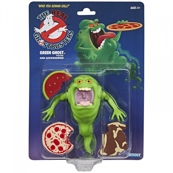Action Figure Retro Ghostbusters Kenner Classics Green Ghost Slimer - Hasbro