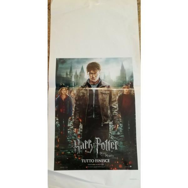 Locandina Harry potter Doni della Morte parte 2 - 33x70