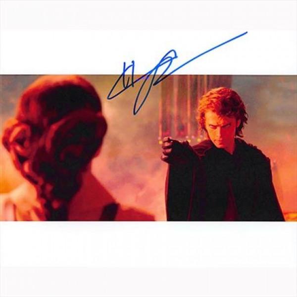 Autografo Hayden Christensen -3- Star Wars Foto 20x25:
