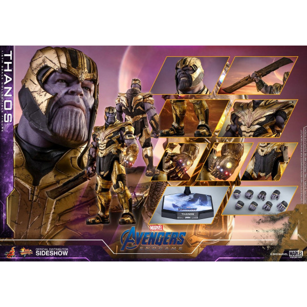 HOT TOYS  Avengers: Endgame Movie Masterpiece Action Figure 1/6 Thanos 42 cm