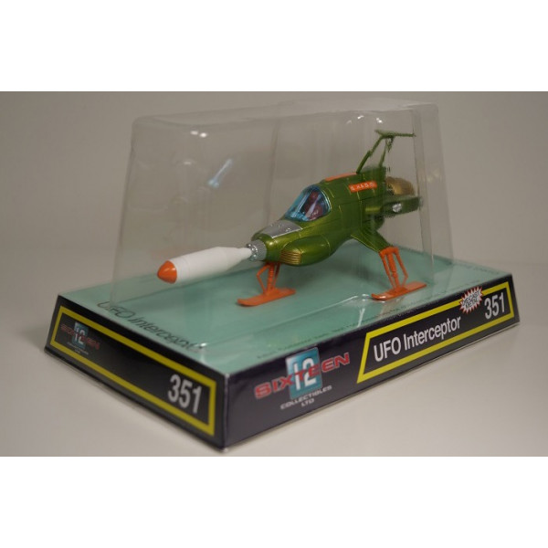 RETRO UFO INTERCEPTOR DIECAST