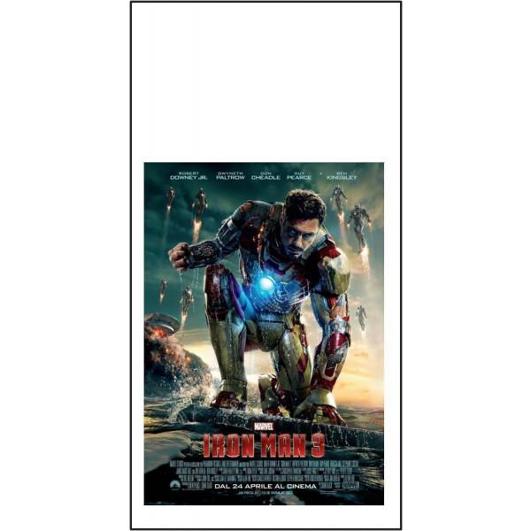 Iron man 3 Locandina cm 33x70