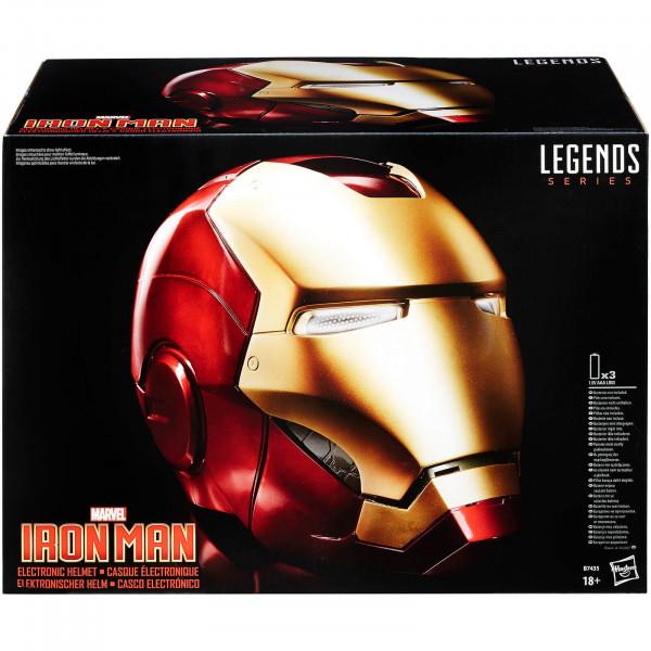 Casco elettronico di Iron Man, 1:1- The Avengers Marvel Legends