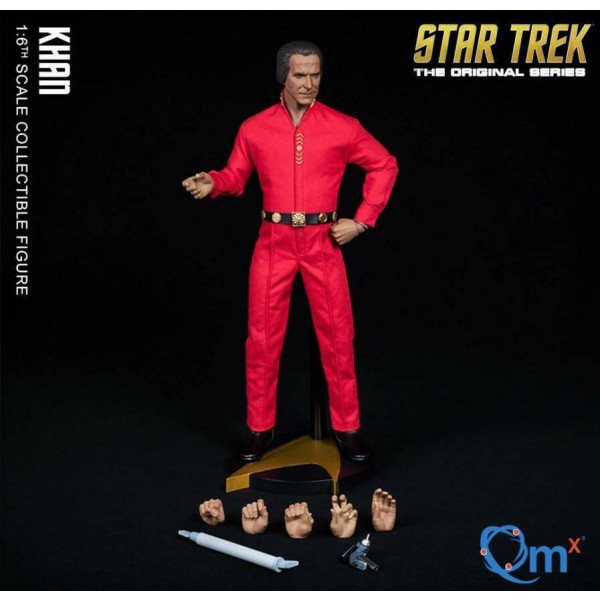 Star Trek TOS Master Series Action Figure 1/6 khan30 cm