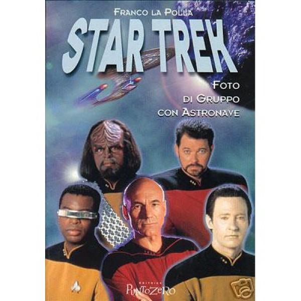 Foto di Gruppo con Astronave – Cover Star Trek The Next Generation