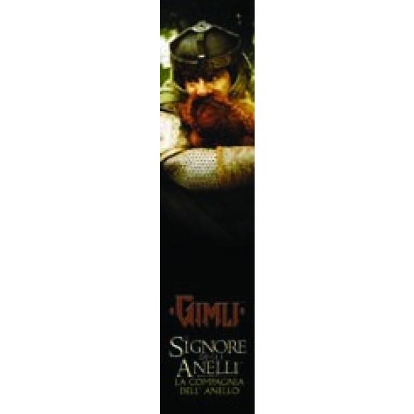 Segnalibro Gimli – Il Signore degli Anelli: La Compagnia dell'Anello