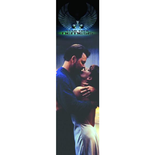 Segnalibro Bacio tra Deanna e Riker – Star Trek Nemesis