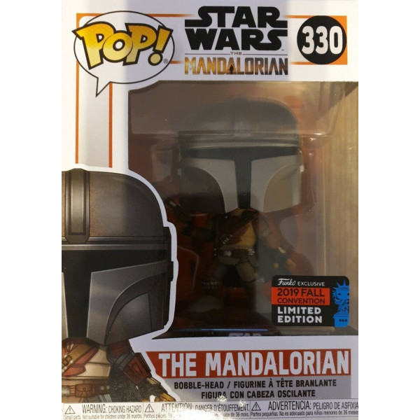 Funko Pop! The Mandalorian #330 NYCC 2019 Star Wars Exclusive Limited Edition