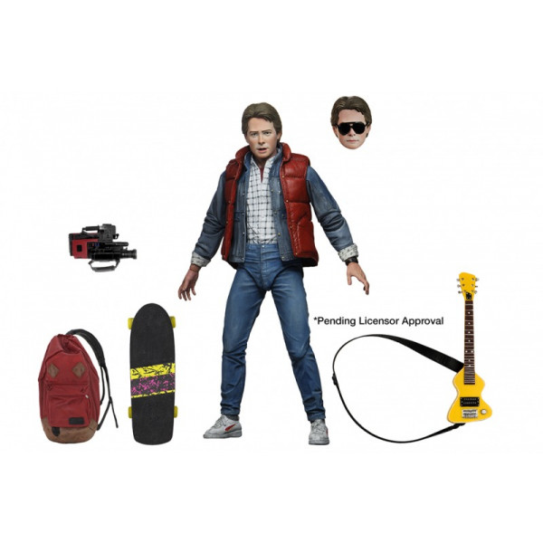 MARTY Back to the future Action figure: