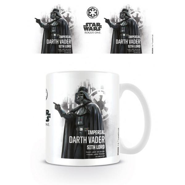 Tazza Star Wars Rogue One (profilo di Darth Vader)