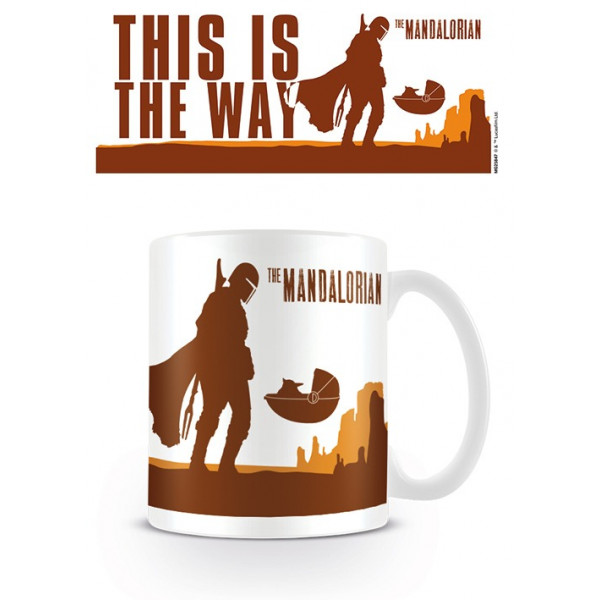 Tazza Star Wars: The Mandalorian (This is the Way)