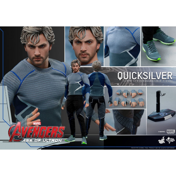 HOT TOYS MMS 302 AVENGERS: AGE OF ULTRON – QUICKSILVER